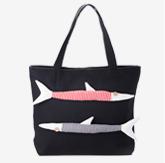 双鱼卡通立体布包