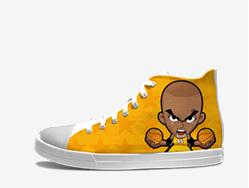 科比鞋Q版涂鸦鞋