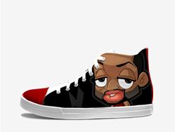 韦德Q版涂鸦鞋