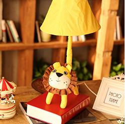 萌萌哒狮子大尾巴台灯